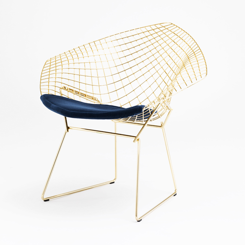 Bertoia diamond chair vintage - Bertoia Diamond Chair Vintage 41