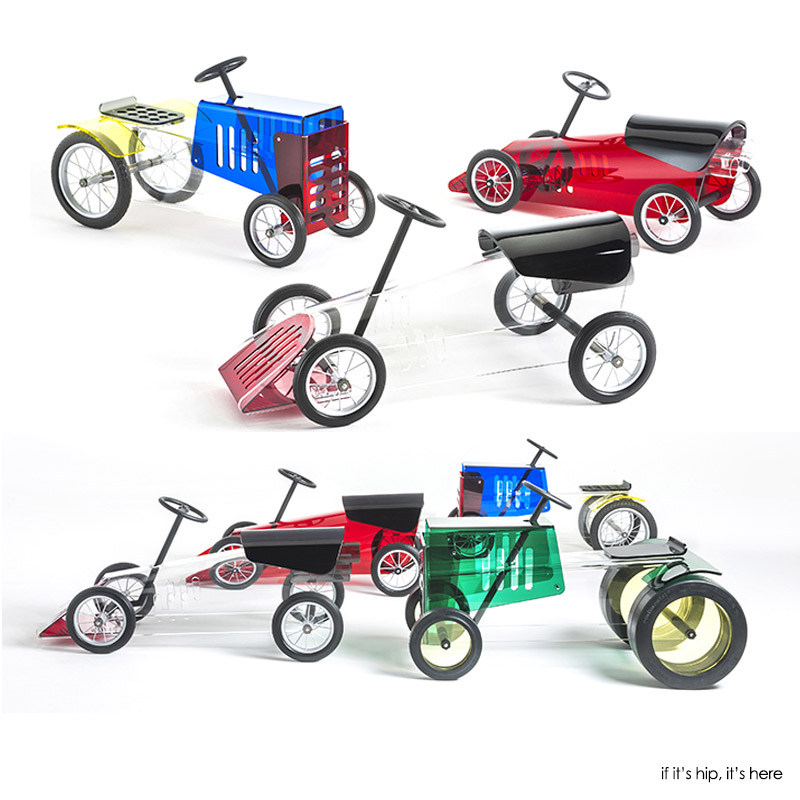 Kartell kids cars and tractor if its hip its here