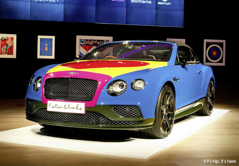 bentley-continental-gt-by-peter-blake-to-be-auctioned