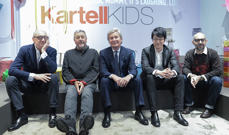 Designers for Kartell's collection for kids