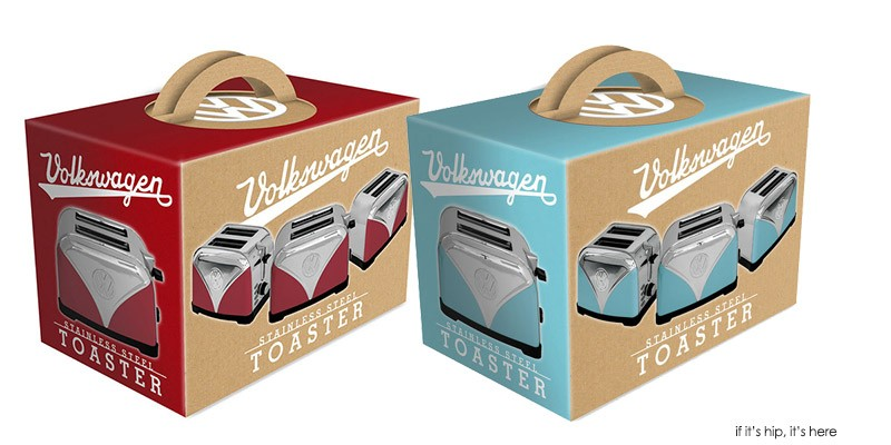 new volkswagon toaster packaging