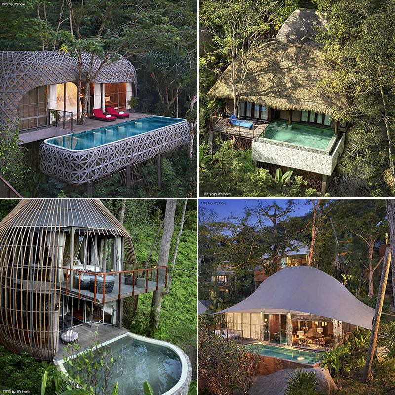the 4 types of pool villas at Keemala on if it's hip it's here