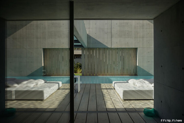 Paradise Is The Wall House in Portugal With Two Perpendicular Pools