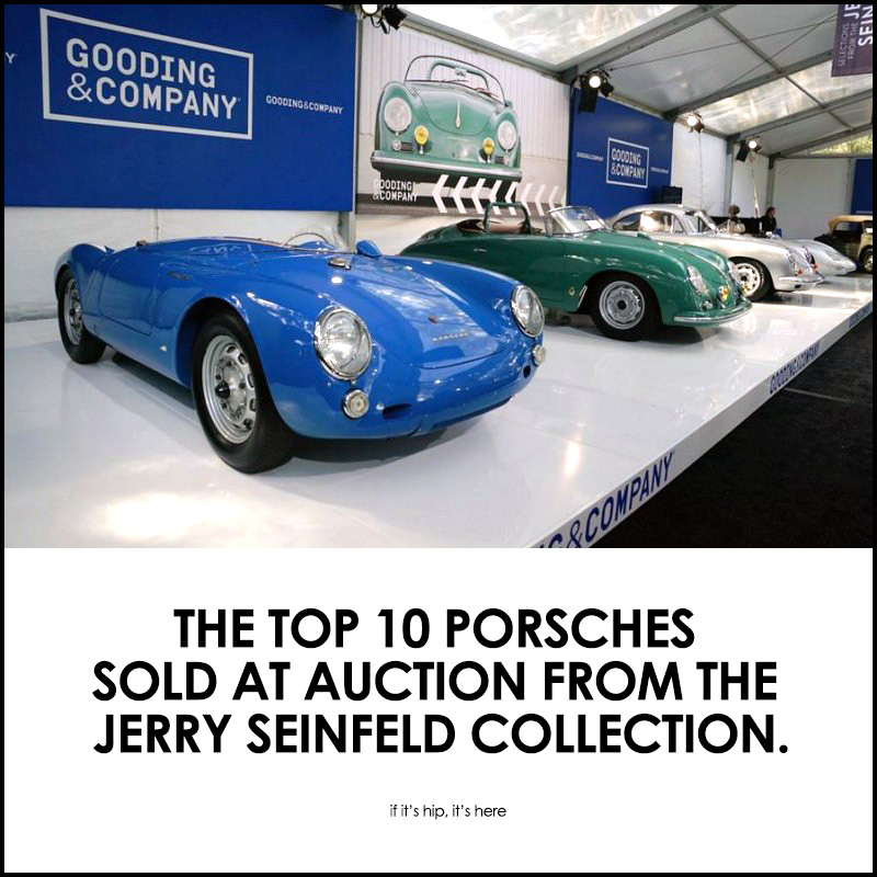 Porsches Sold from The Jerry Seinfeld Collection