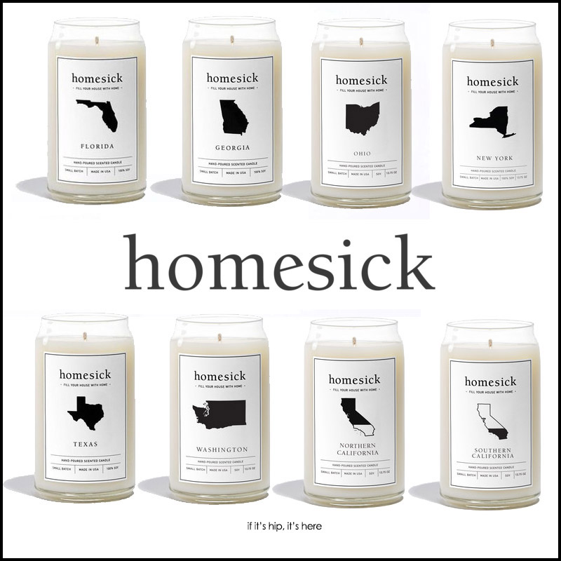 state scented homesick candles make great gifts
