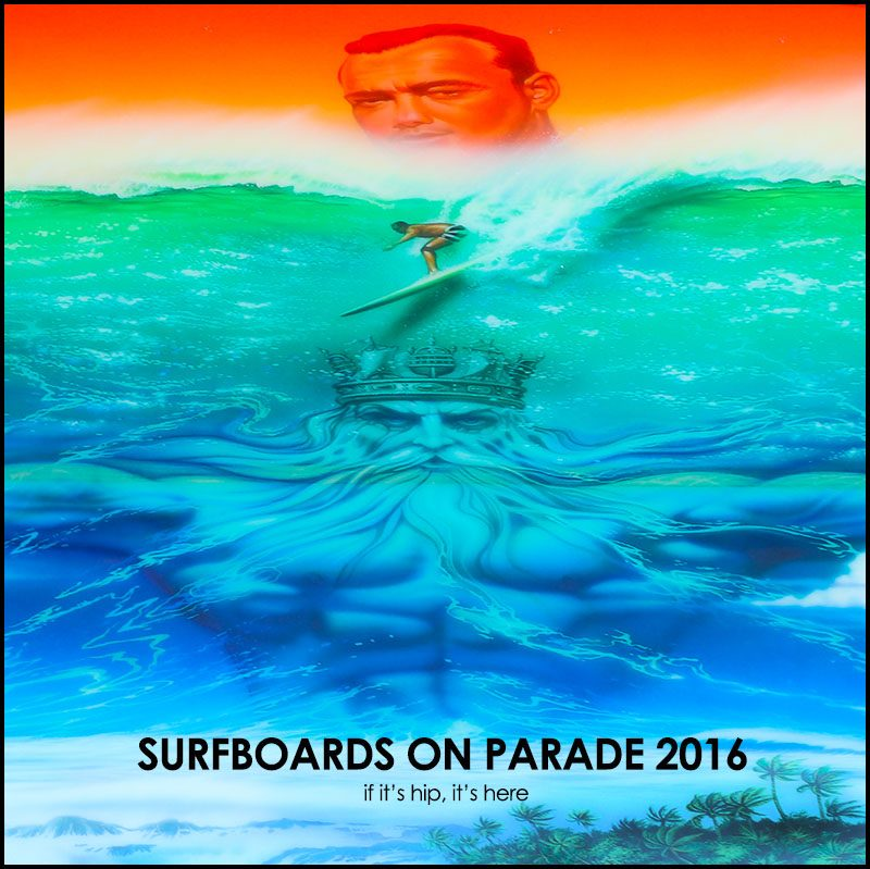 Surfboards on parade 2016