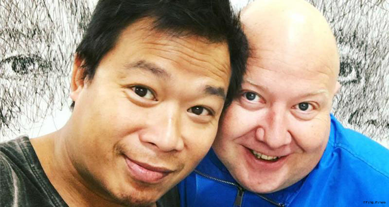 Hom Nguyen and Fred Pinel