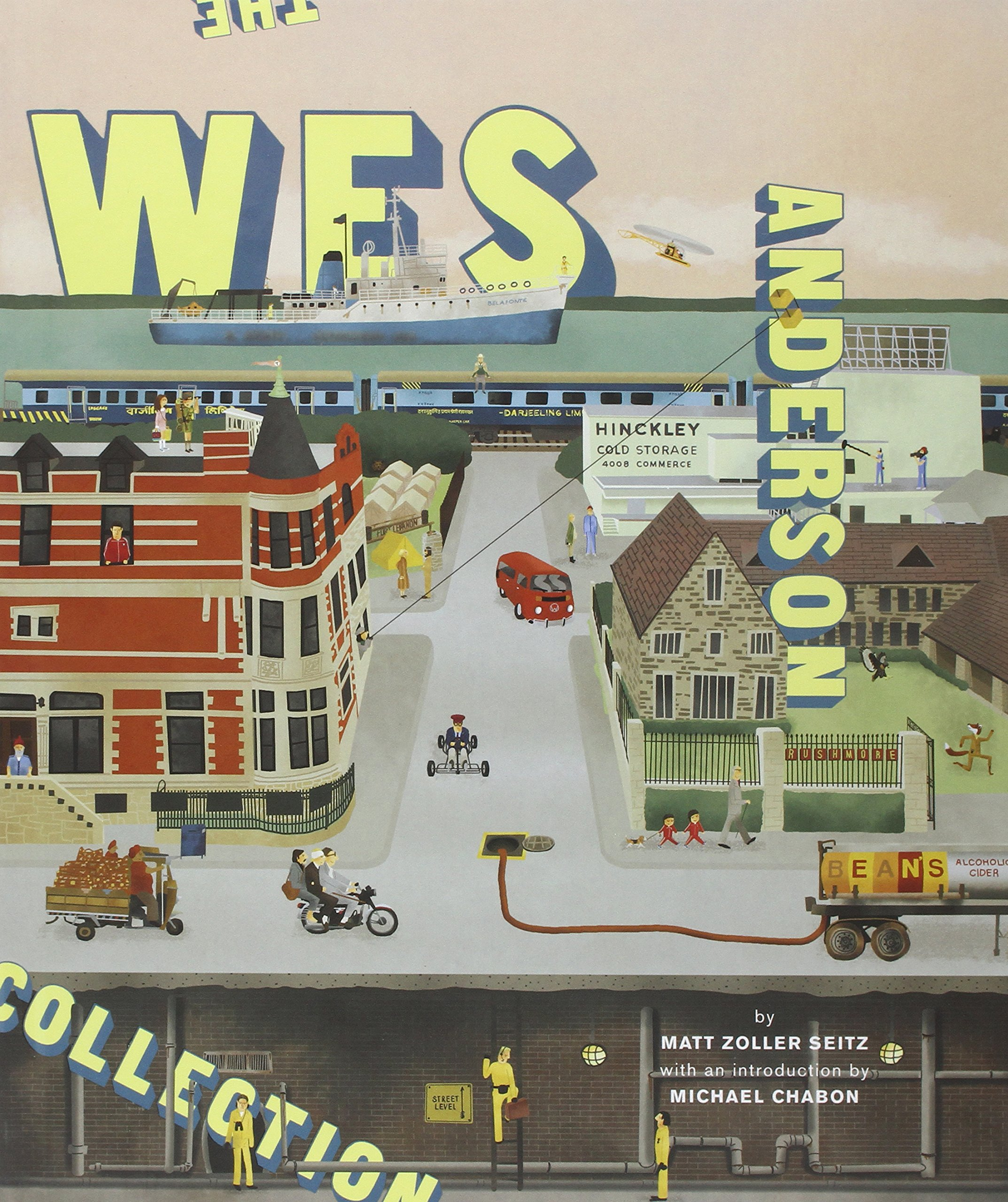 Bad dads art inspired by the films of wes anderson - Wes anderson coffee table book ...