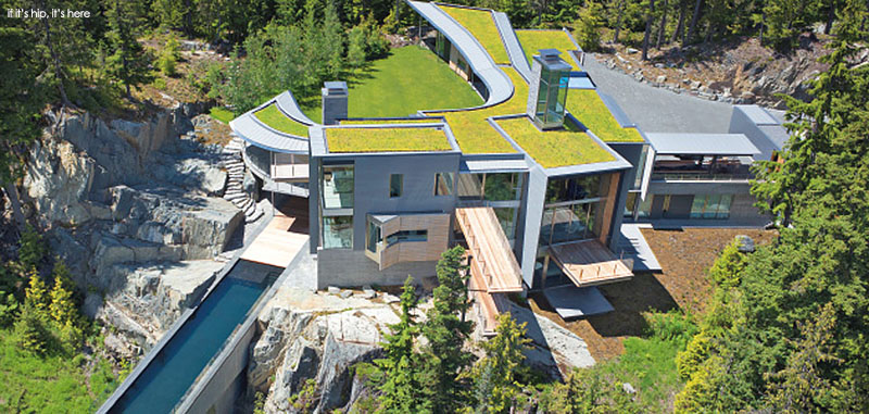 The Whistler Residence With Cantilevered Pool