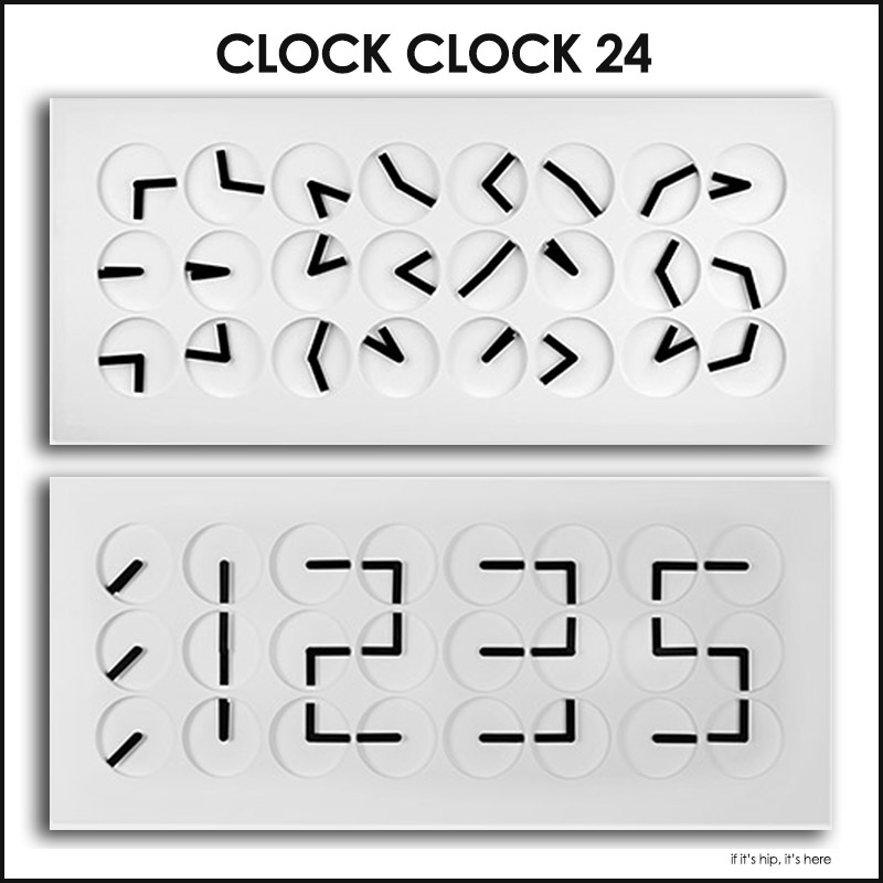 ClockClock 24 by Humans Since 1982