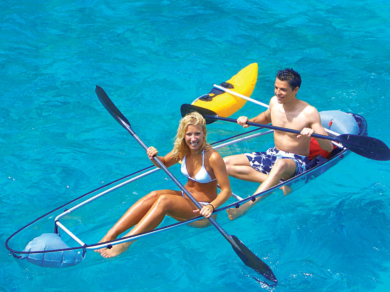 Totally Transparent Canoes And Kayaks The Best Prices For