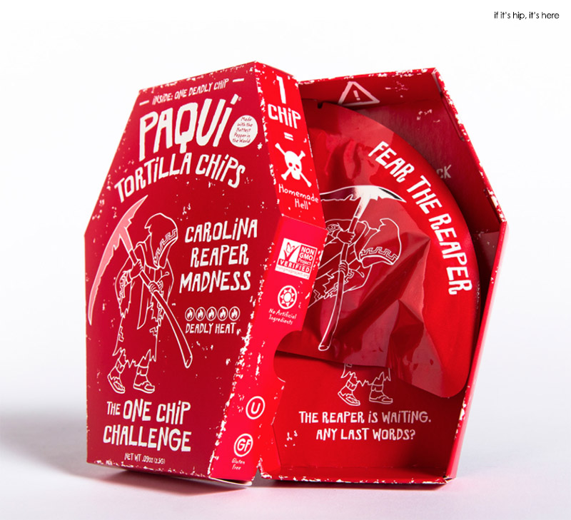 paqui coffin packaging