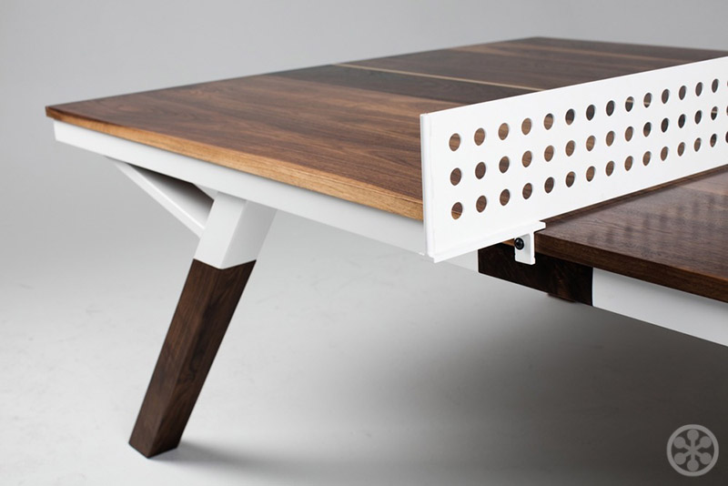 Perfect Sean Woolsey us Walnut Wood Ping Pong Table Dining Table
