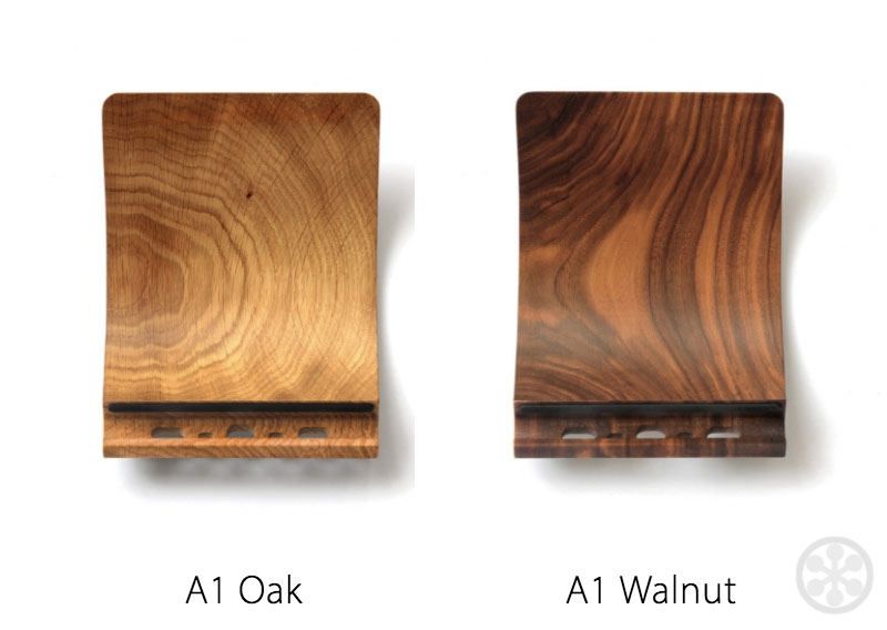 Yohann Ipad Stands For All Sizes In Wood Or Lacquer