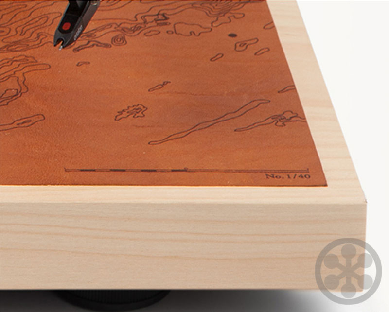 Commonwealth Collection C10 Turntables Of Leather Amp Wood