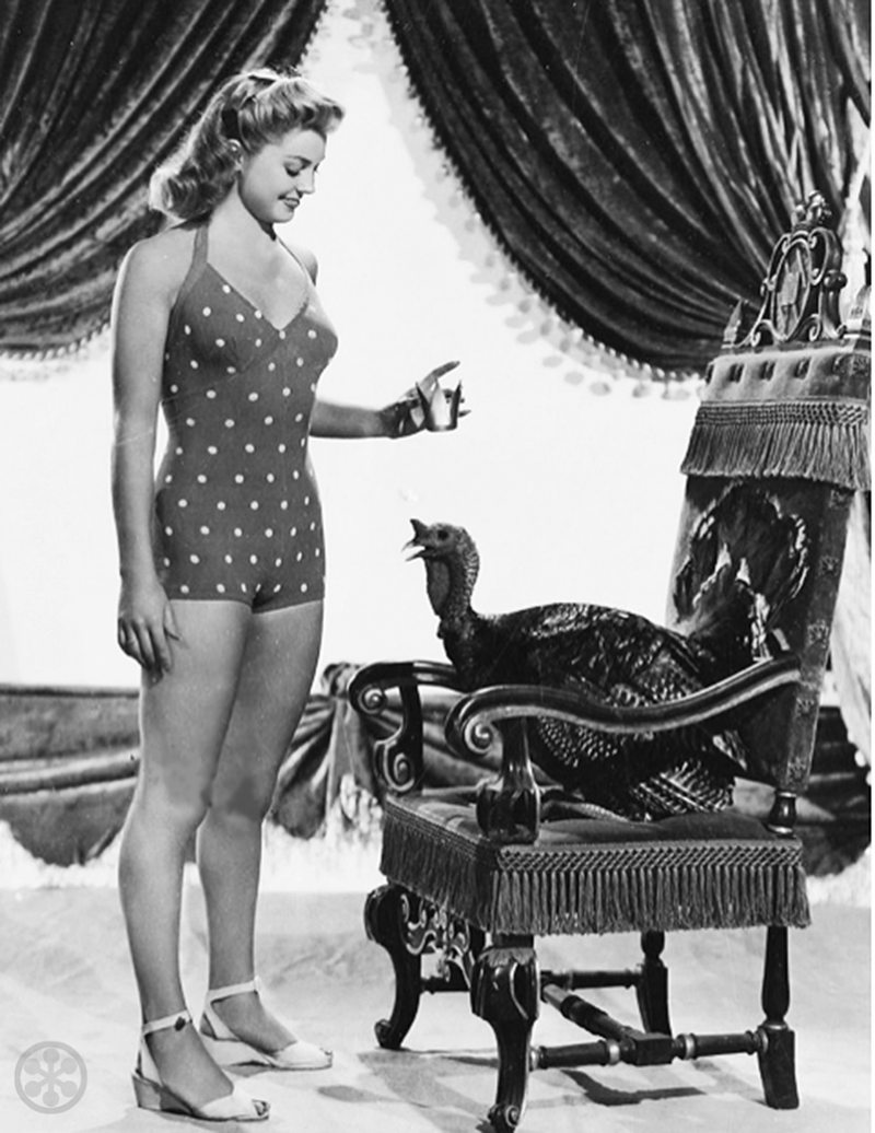 Esther Williams vintage hollywood Thanksgiving