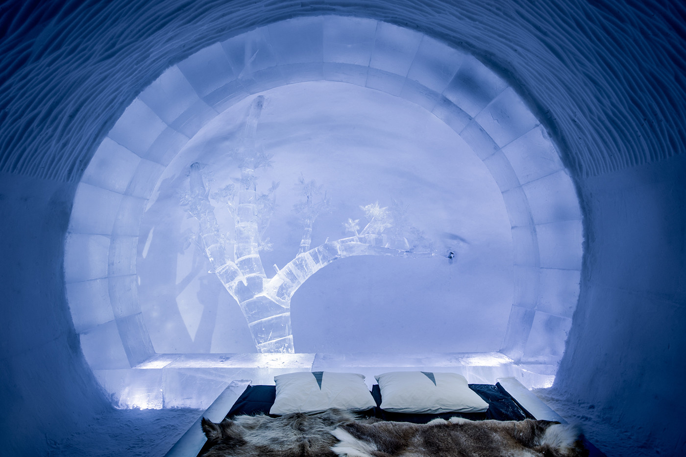 A Look Inside The All Year Round ICEHOTEL 365