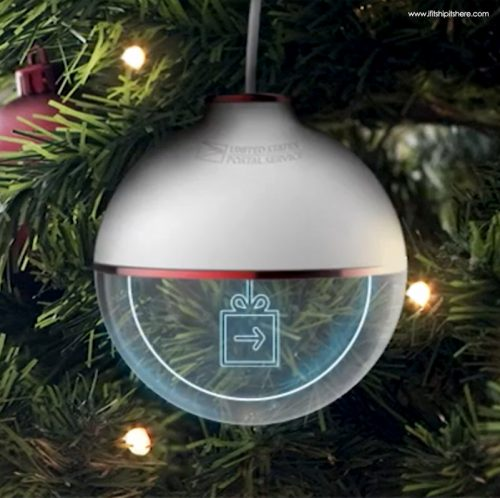 Read more about the article A Christmas Ornament That Tracks Your Holiday Packages!