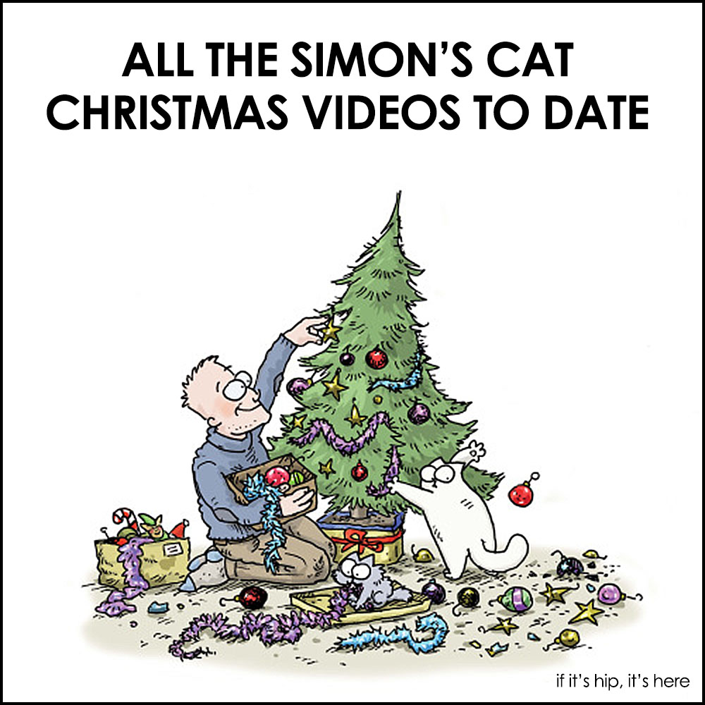 the only cat cartoons i can endure simon 39 s cat christmas. Black Bedroom Furniture Sets. Home Design Ideas