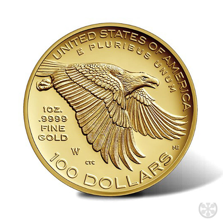 2017 American Liberty Gold Coin backside