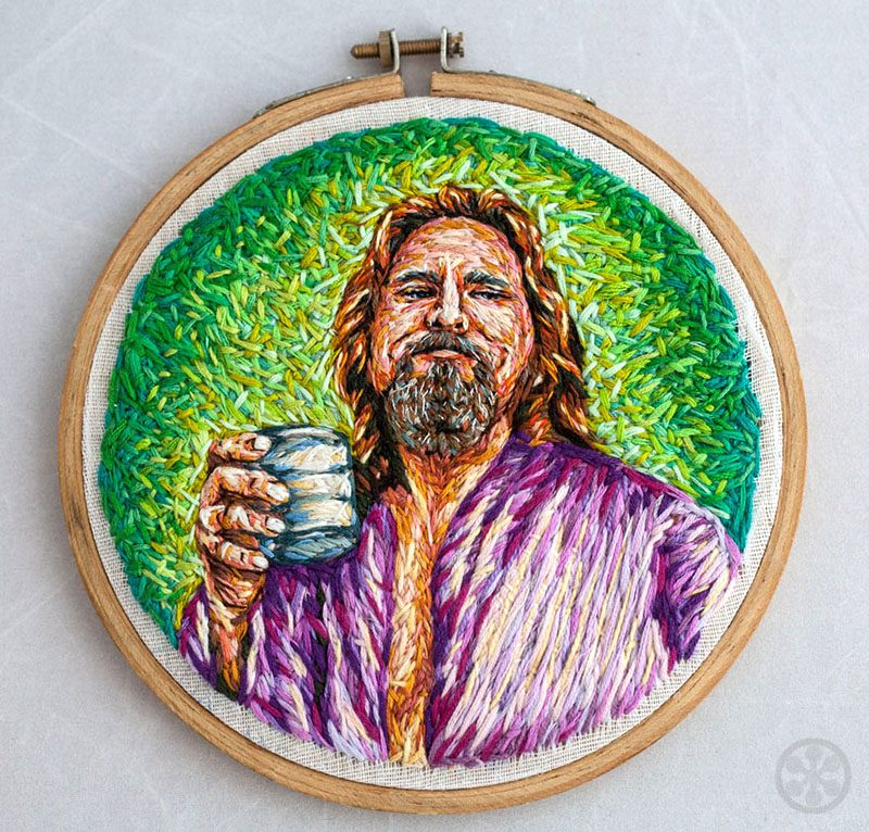 the dude embroidered