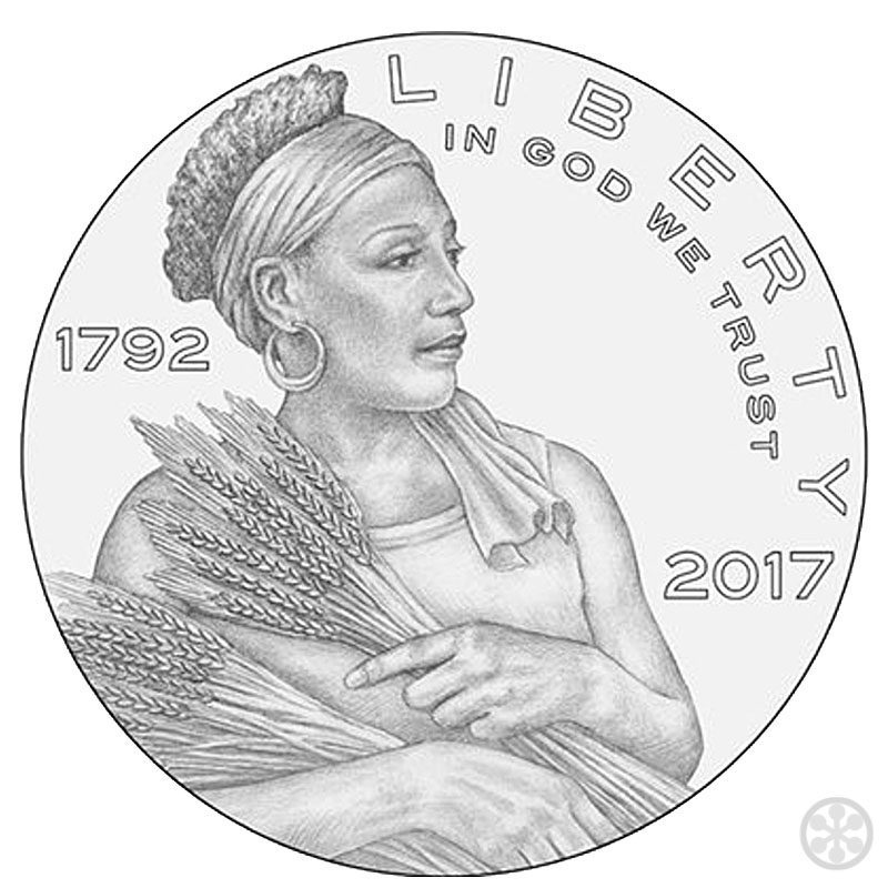 rejected design for american liberty coin