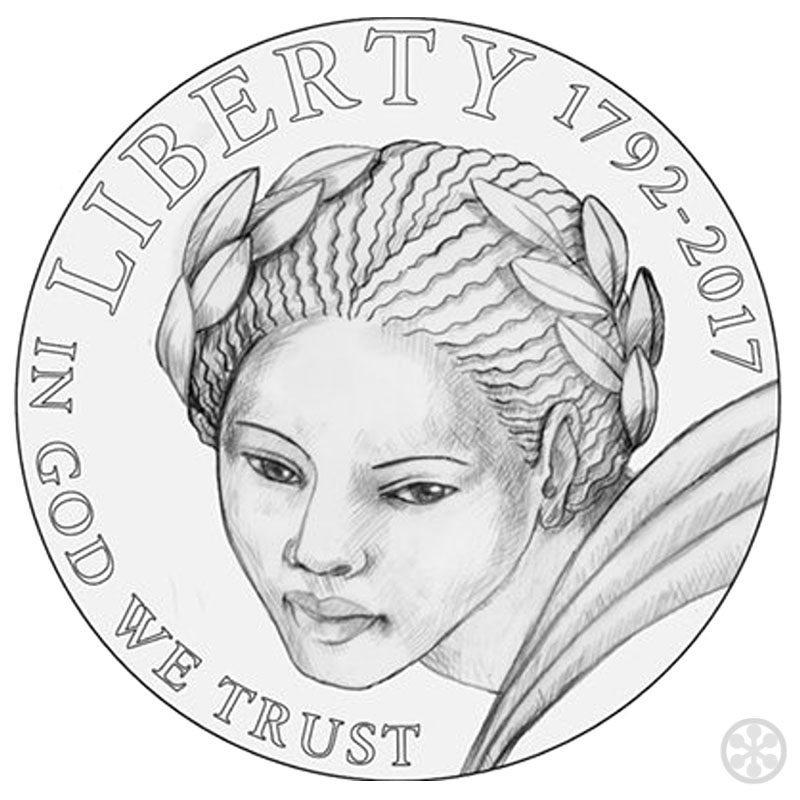 american liberty gold coin rejected design