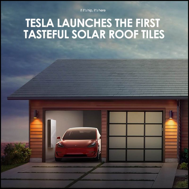 Tesla Launches The First Truly Tasteful Solar Roof Tiles