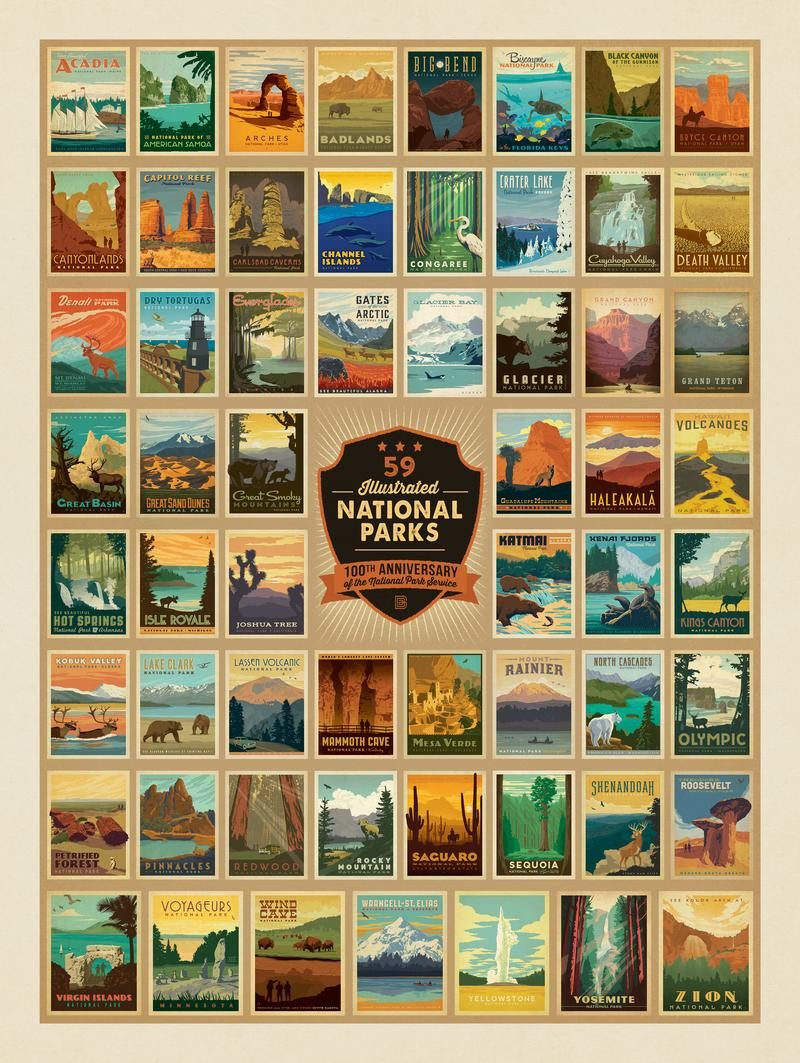 Uintas National Parks Beer Can Designs By Anderson Design