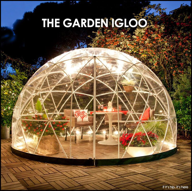 Inflatable Tent Furniture: Get Your Own Garden Igloo