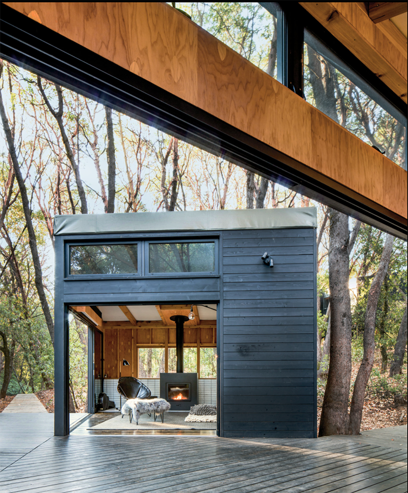 The Forest House By Envelope A D Is A Cabin Compound
