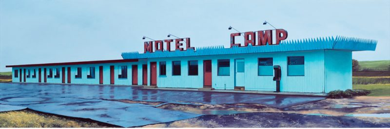 mcm architecture paintings