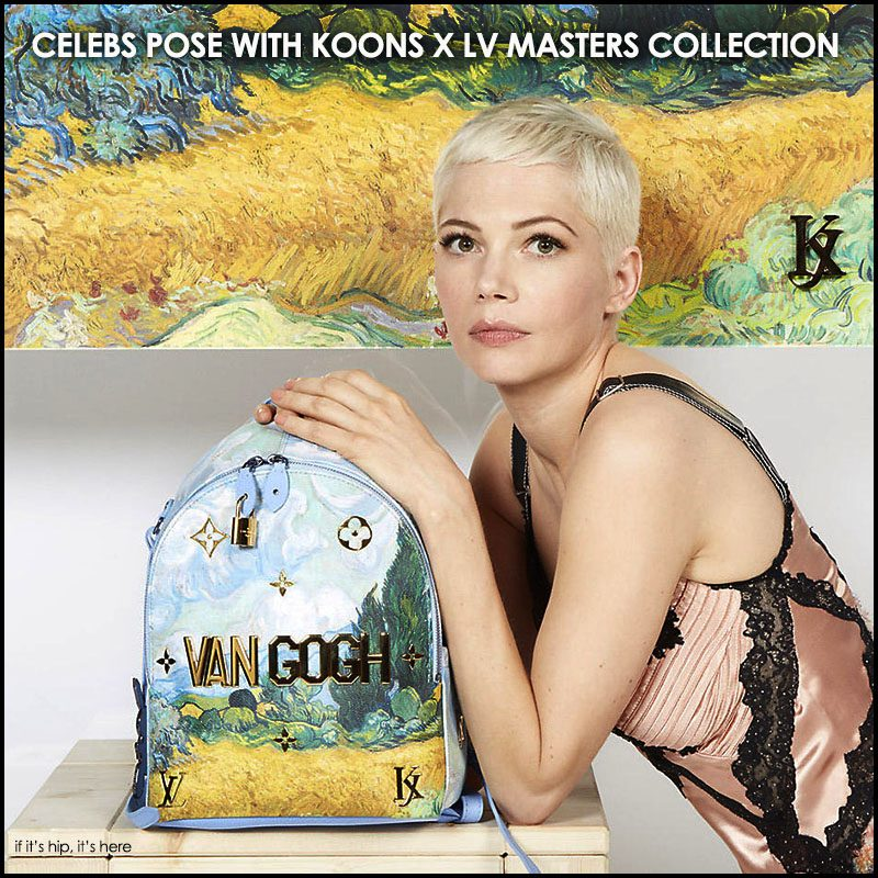Koons x Louis Vuitton Masters Collection