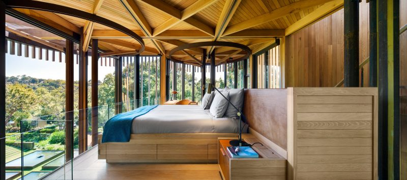 The Paarman Family Estate Constantia Treehouse on