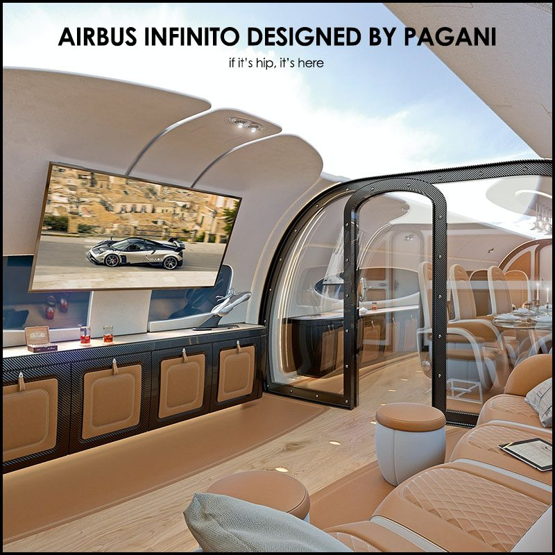 Airbus Infinito on if It's hip, It's Here