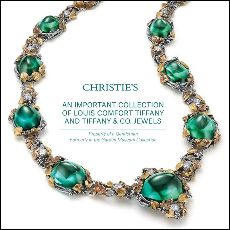 louis comfort tiffany jewelry at christie 39 s auction