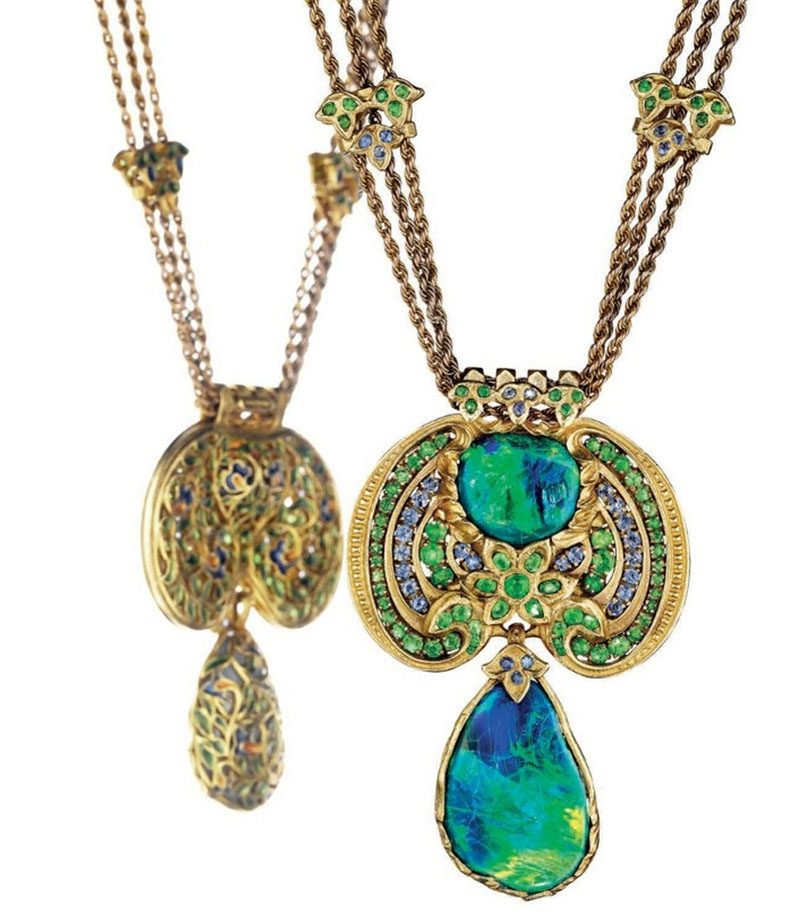 necklace by Louis Comfort Tiffany