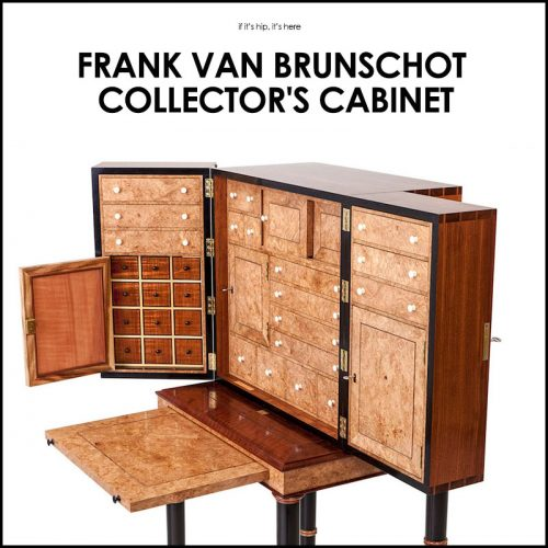 Read more about the article Woodworking Envy: Frank van Brunschot Collector's Cabinet