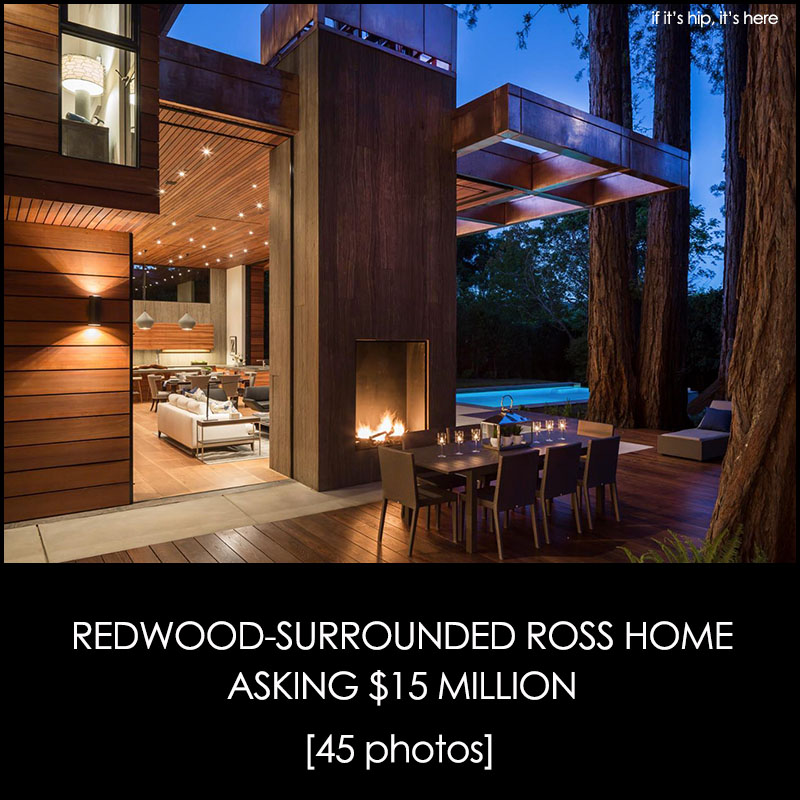 Redwood Surrounded Ross Home