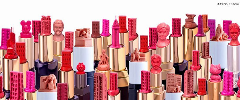 More Amazing Lipstick Sculptures by May Sum