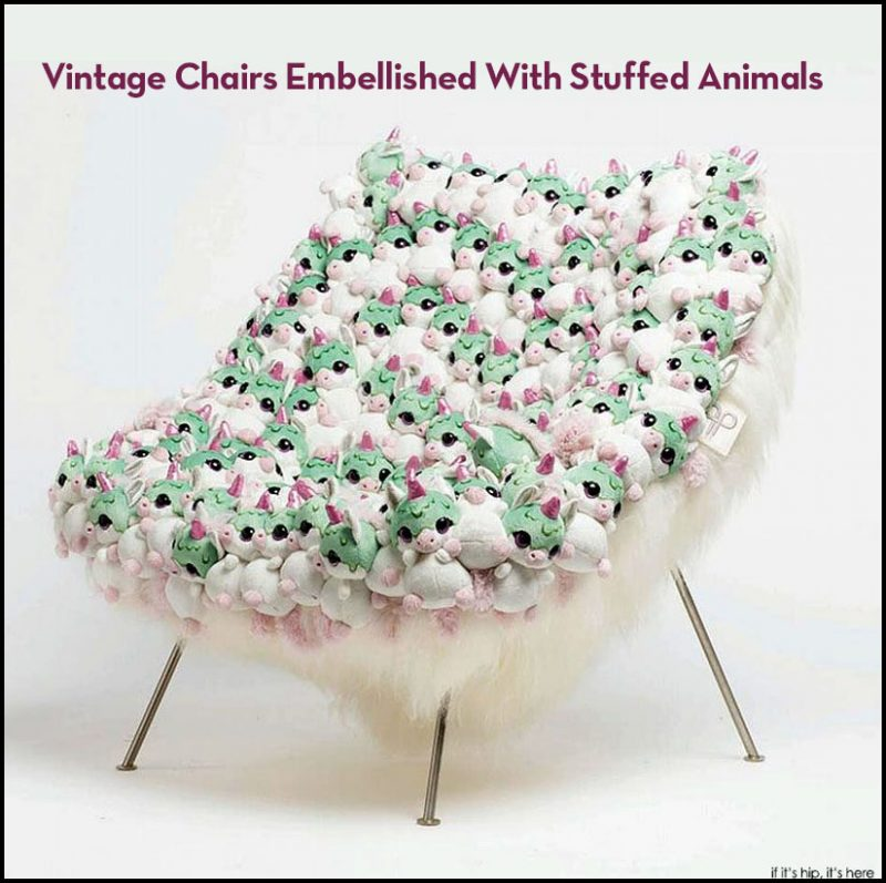 Vintage Stuffed Animal Chairs on if its hip its here