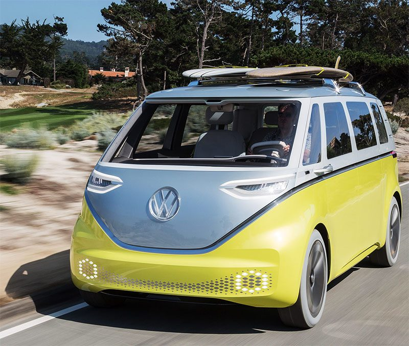 Volkswagen Brings Back The Bus As The Electric Volkswagen