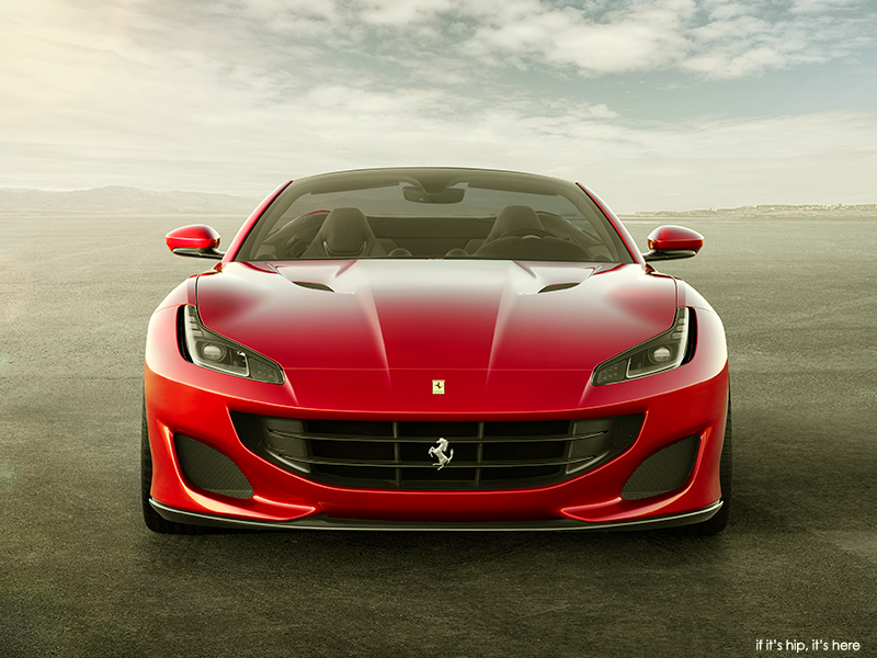 Simple As beautiful if not more so than its predecessor the new retractable hardtop Ferrari Portofino named after the town in Italy is powered by a