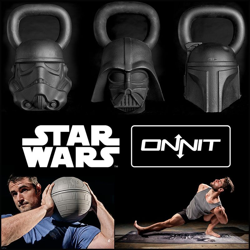 Onnit Star Wars Work Out Equipment