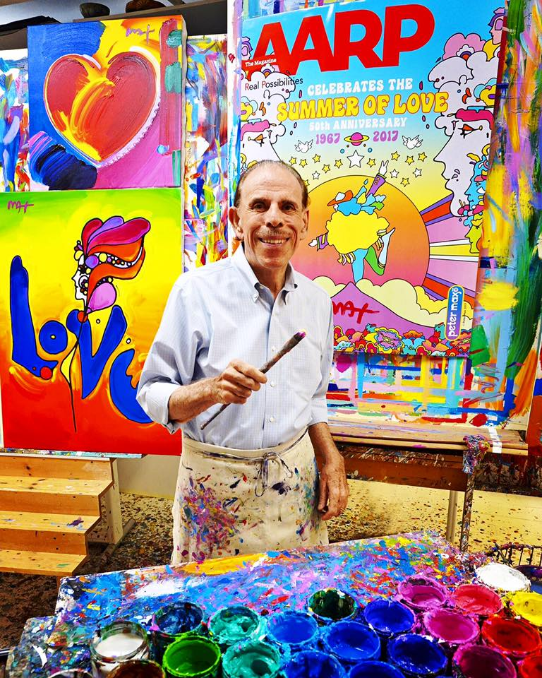 Pop Artist Peter Max Turns 80. And He's Still Creating. Peter Max 60s