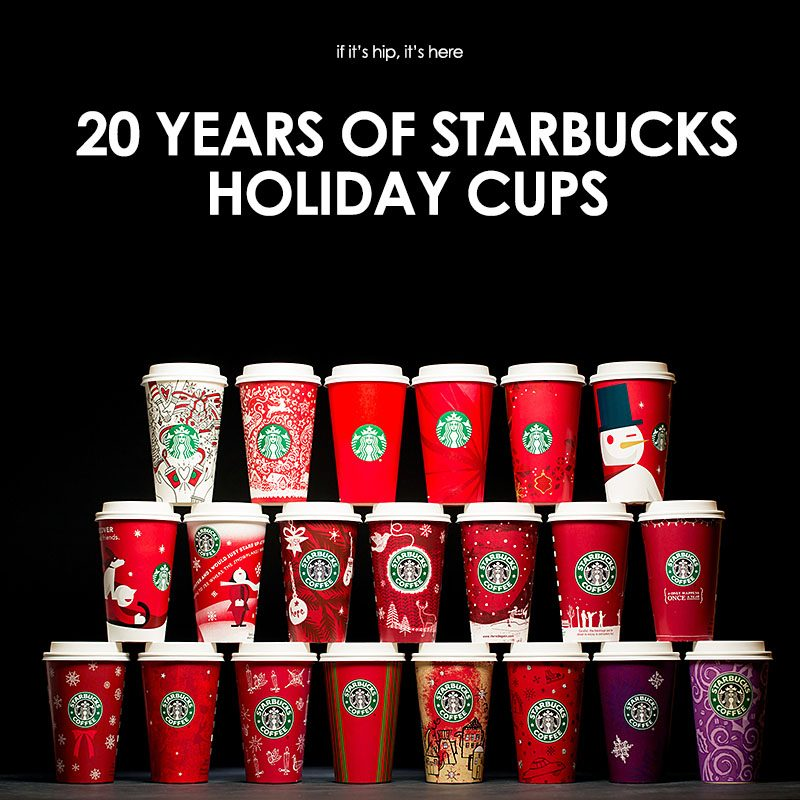 Starbucks New Holiday Cups Are Here and They Probably Wont Cause Much Drama