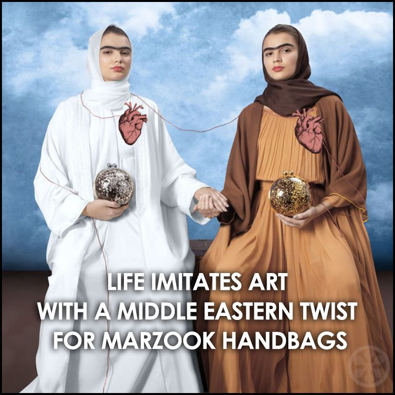 Middle Eastern Art Ad Campaign for Marzook