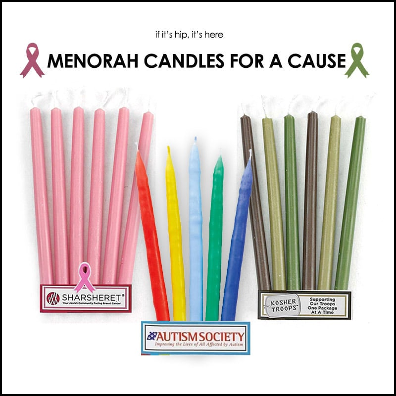 chanukah candles for a cause