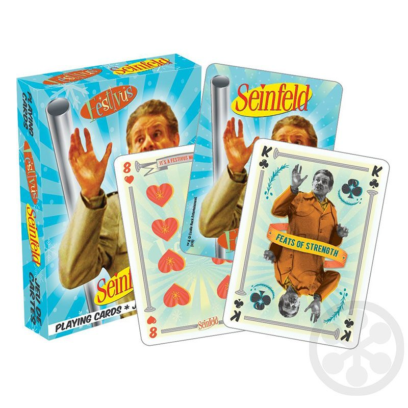 Festivus Playing Cards