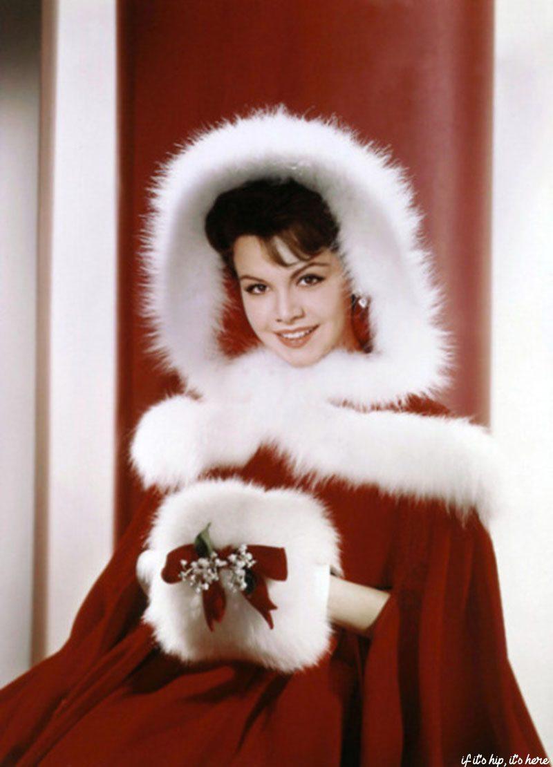 Annette Funicello christmas